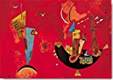 Kandinsky Mit und Gegen Kunstdruck Grösse 100x70 cm