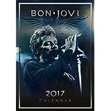 Bon Jovi Official 2017 A3 Calendar