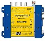 Telestar 5222532 SCR 5/2x4 G Einkabellösung (8 Sat Empfänger auf 2 Leitungen, Steckernetzteil) silber