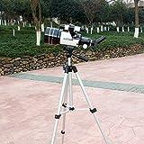 YZPWYJ 700mm Focal astronomic Professional telescopio con treppiede Finderscope Terrestrial Space Moon Watching Monocular Telescope, per Bambini Adulti Astronomy Beginners (Color : White)