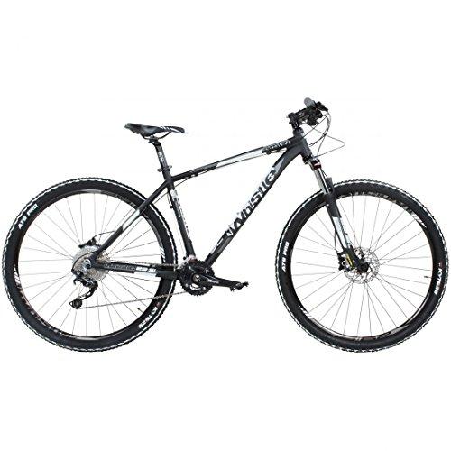 29\' Mountainbike Whistle Patwin 1500 20S Shimano DEORE SLX schwarz weiss 29er, Rahmengrösse:17 Zoll