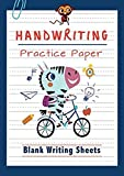 Handwriting Practice Paper: ABC Kids, Notebook with Dotted Lined Sheets for K-3 Students, 120 pages, 8.5x11 inches (English Edition)