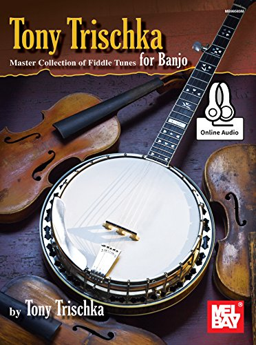Tony Trischka Master Collection Of Fiddle Tunes -For Banjo- (Book & Online Audio): Noten, Download (Audio) für Banjo