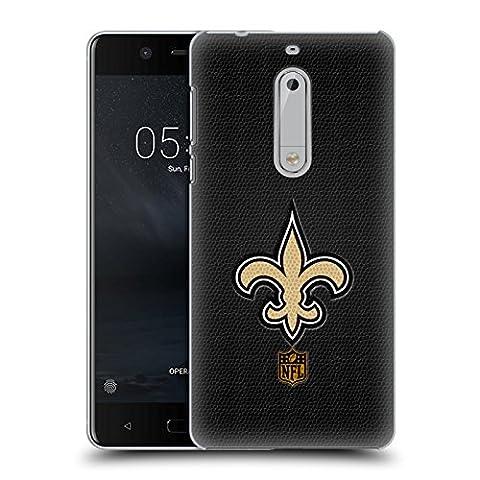 Officiel NFL Football New Orleans Saints Logo Étui Coque D'Arrière Rigide Pour Nokia 5