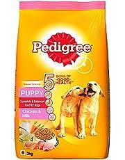 Pedigree Puppy Dog Food Chicken & Milk, 3 kg Pack