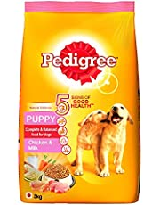 Pedigree Puppy Dog Food Chicken & Milk