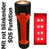 3in1 LED Arbeitsleuchte Werkstatt Pannen Lampe Akku 12V USB SOS Funktion KHB3