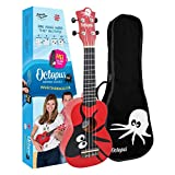 Ukelele soprano, color rojo UK200-KAR,...