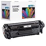 Liondo XXL Toner Kompatibel zu HP 12A (Q2612A) HP LaserJet 1010 1012 1015 1018 1020 1022 M1005 MFP Laserdrucker - 4.000 Seiten Schwarz (BK)