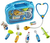 Doctors Set Medical Case Pretend Role Toys Doctor Nurse Kit Playset Gift for Kids Over 3 Years Old