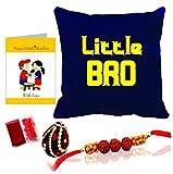 """Best Little Brother - Printelligent Rakhi Gift for Brother""""Little Bro"""" Rakhi Themed Review"""