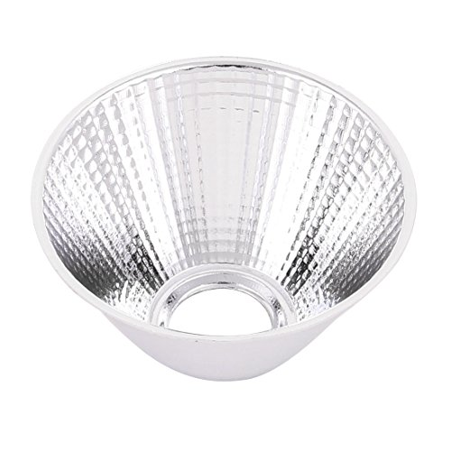 sourcing map D69mm H40mm Aluminium LED Licht Lampe Reflektor Tasse für LED COB Taschenlampe DE de - Reflektor Lampe Licht