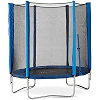 Plum® Products 6ft Trampoline & Enclosure Blue
