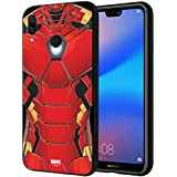 CellKraft 101194 Licensed Marvel Iron Man Hard Back Case Mobile Cover for Redmi 6 Pro (Multicolor)