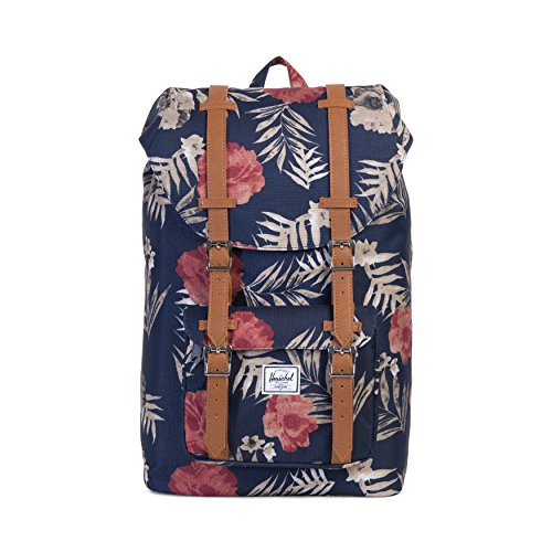 herschel-supply-co-little-america-mid-volume-backpack-peacoat-floria-tan-synthetic-leather
