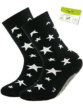 Ewers 1er oder 2er Pack Babystoppersocken Jungensocken Stoppersocken ABS Socken Antirutsch schadstofffrei Baby...