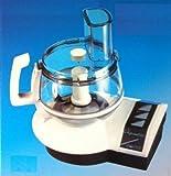 Aktion Ronic Original 4000 Küchenmaschine 700 Watt-mit Entsafteraufsatz plus profiliertes Mehrzweckmesser, Schnitzel-/ Raspelscheiben, fein /grob, Pommesfrites-Scheibe, Zitruspresse, Sahnescheibe,uvm