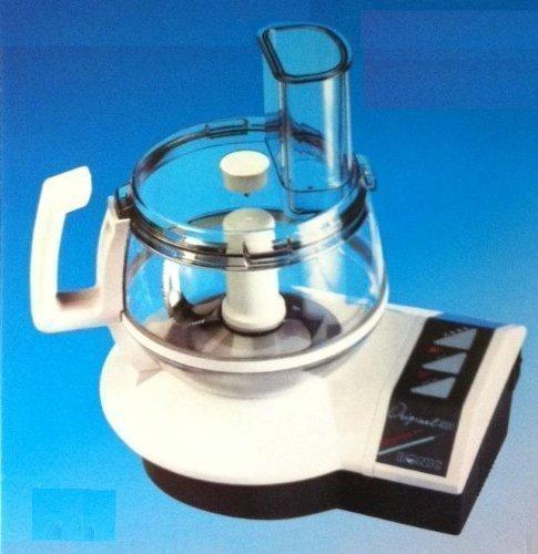 Ronic Original 4000 Küchenmaschine 700 Watt - mit Entsafteraufsatz plus profiliertes Mehrzweckmesser, Schnitzel-/ Raspelscheiben, fein /grob, Pommesfrites-Scheibe, Zitruspresse, Sahnescheibe, uvm...