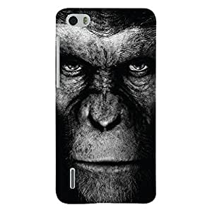 ColourCrust Huawei Honor 6 / Dual Sim Mobile Phone Back Cover With Gorilla - Durable Matte Finish Hard Plastic Slim Case