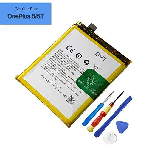 Neuer Ersatzakku OnePlus 5 OnePlus 5T Ersatzakku 3210mAh 3.85V BLP637 Neue interne Batterie mit Werkzeug
