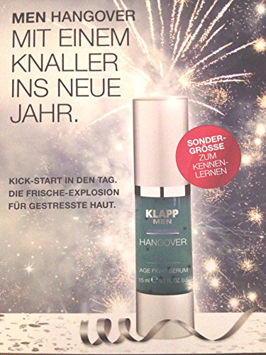 Klapp Hangover Age Fight Serum Hangover Serum 15 ml Limitierte Edition
