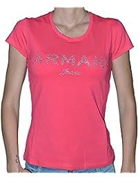 Armani Jeans - FEMME - Tee Shirts Manches Courtes - V5H17 Blanc