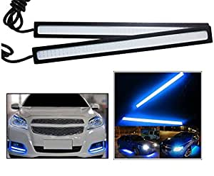 Autosun Daytime Running Lights Cob LED DRL (Blue) for Maruti Suzuki Alto-K10