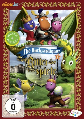 Die Backyardigans - Ritterspiele (Teil 3) - Dvd Backyardigans