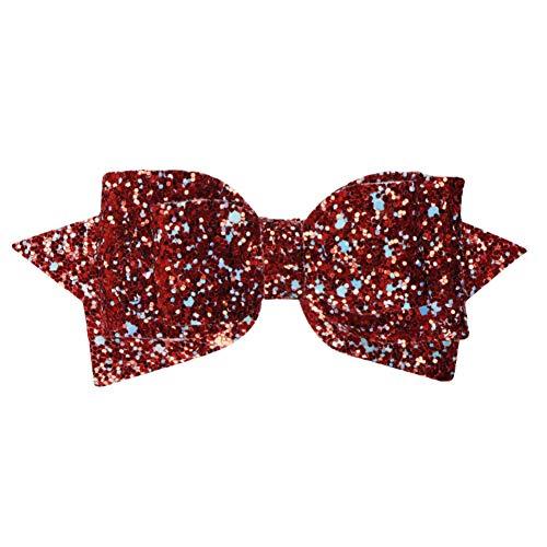 Haarschleife für Mädchen, grob geripptes Band, 10 cm