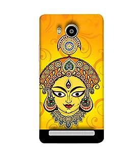 Fuson Designer Back Case Cover for Lenovo A7700 ( Godess Maa Durga Devi Aadya Amba )