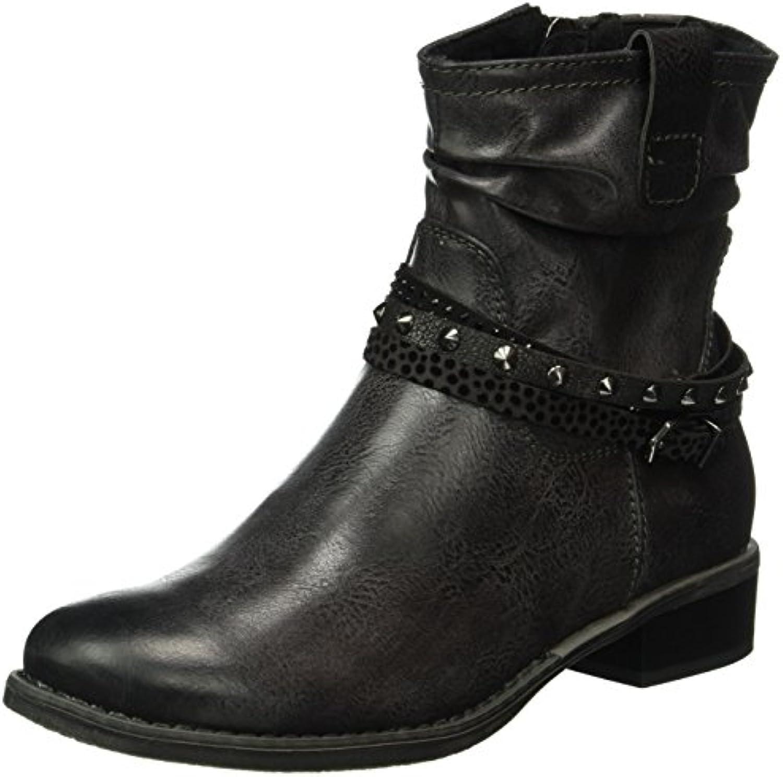 MARCO TOZZI Damen 25364 Kurzschaft Stiefel 2018 Letztes Modell  Mode Schuhe Billig Online-Verkauf