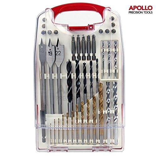 apollo-40-piece-mixed-drill-bit-set-suitable-for-metal-wood-plastic-concrete-contains-titanium-coate