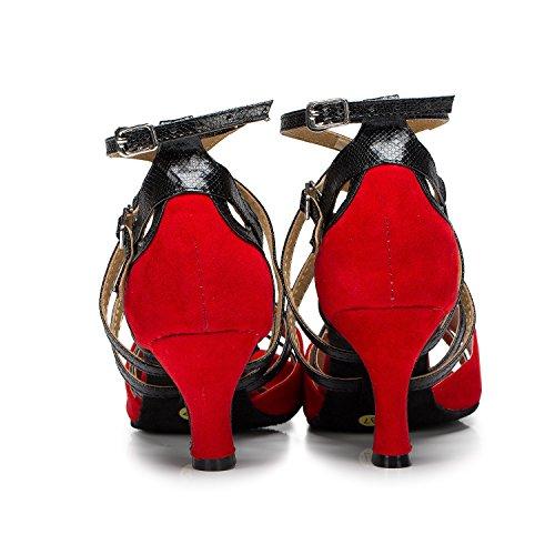 Minitoo , Jazz & Modern femme Red-7.5cm Heel