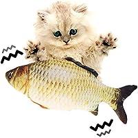 Flippity Fish, Elektrisches Katzenspielzeug, Simulation Fisch USB-Kabel, Katzenspielzeug Fisch Unterschiedliche…