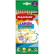 Plascolor PP802 - Pack de 12 lápices de color