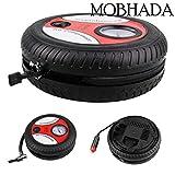 Mobhada Electric Portable DC12V Tire Inflator Mini Car Compressor Pump