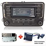 VW Autoradio Stereo RCN210 +Kabel Bluetooth CD USB AUX SD für VW Golf Passat TOURAN Jetta Polo TIGUAN Caddy EOS CC