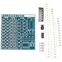 Tarjeta Haljia para prácticas con componentes SMT y SMD, prácticas de soldadura, placa PCB