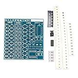 Haljia - Componente elettronica per saldatura e brasatura SMT SMD su circuito stampato, compatibile con Arduino