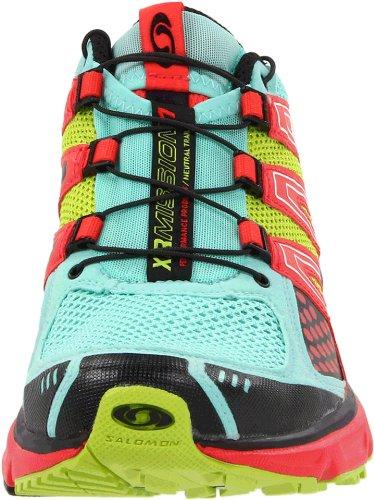 Chaussures De Course Salomon Xr Mission L32703500, Celadon / Papaya-b / Pop Vert Pour Femme