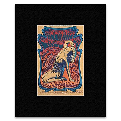 ROCK ART EXPO - San Francisco 1994 Matted Mini Poster - 7.9x5.8cm -