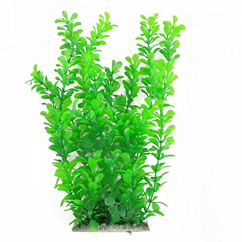 12 inch Green Fish Tank Water Plastic Plant Aquarium Decoration Test