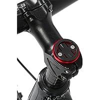 Alomejor Potence de Vélo Top Cap, Ordinateur Chronomètre Support de Fixation pour Garmin/Bryton/CatEye