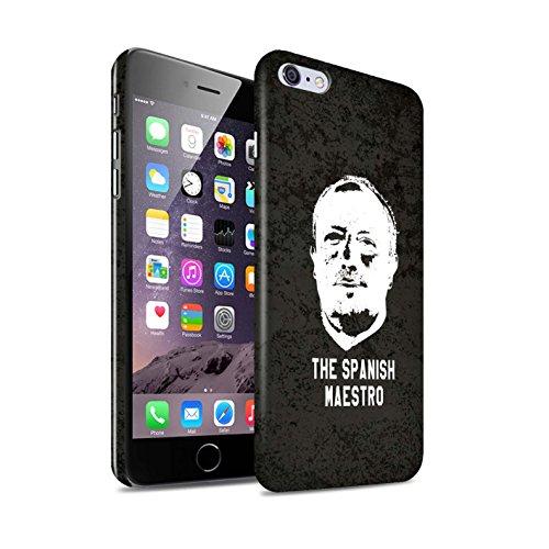 Officiel Newcastle United FC Coque / Clipser Brillant Etui pour Apple iPhone 6S+/Plus / Pack 8pcs Design / NUFC Rafa Benítez Collection Maestro Espagnol
