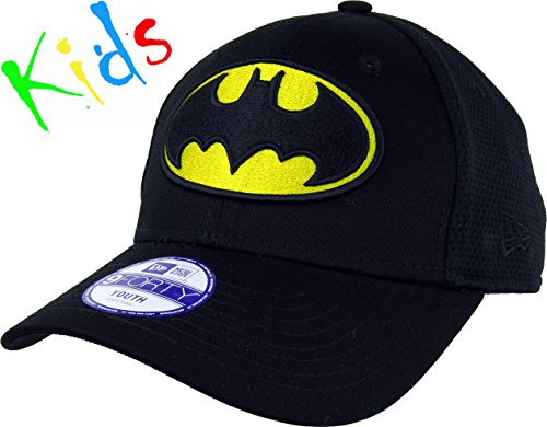 New Era Mesh Hero Jr Batman Otc - Gorra Línea Batman para Niño, multicolor, talla única