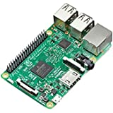 Raspberry Pi 3 model B - Barebon de sobremesa (Quad-Core 1.2 GHz, 1 GB RAM, USB 2.0, Bluetooth 4.0, 802.11b/g/n)