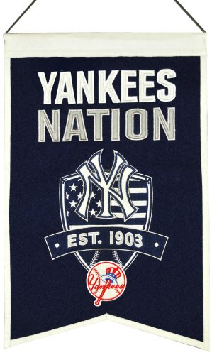 Siegesserien Sports 30503 New York Yankees Nationen Banner