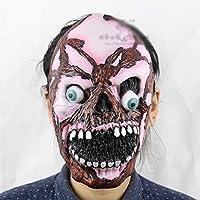TYXHZL Halloween Blasting Zombies Halloween Navidad Performance Props Soft Ghost terrorista Ghost Mask Headgear