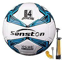 كرة قدم للأطفال من سينستون مقاس 4 مع مضخة للشباب والأطفال الصغار مع مضخة