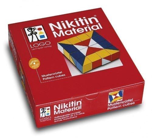 Musterwrfel-Nikitin-Spielzeug
